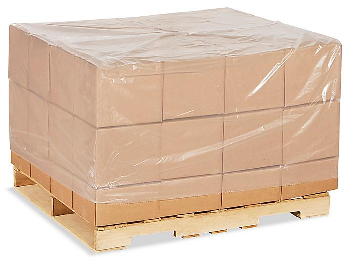 """48 x 42 x 48"""" 4 Mil Clear Pallet Covers S-13553"""