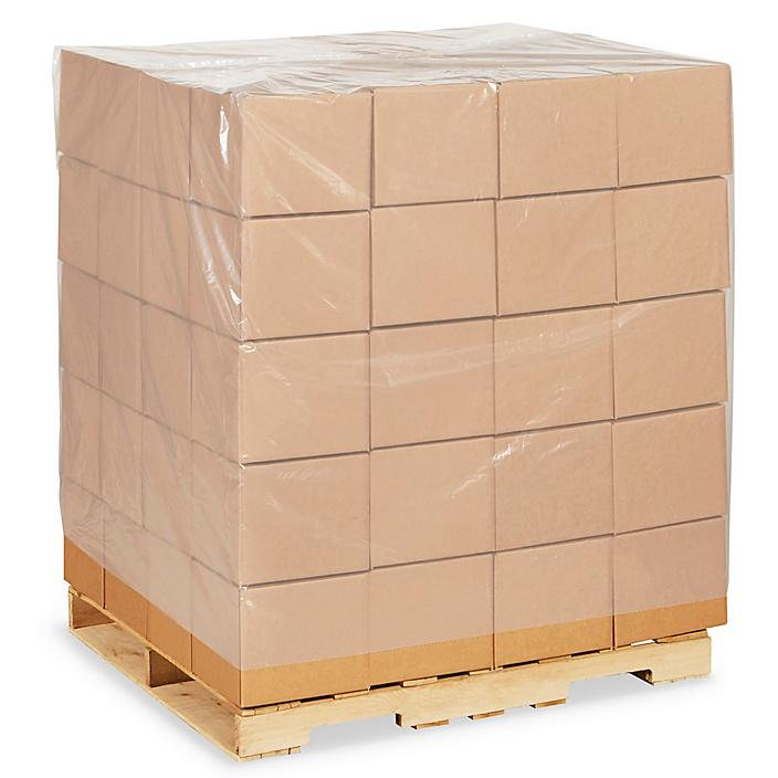 """48 x 42 x 66"""" 4 Mil Clear Pallet Covers S-13554"""