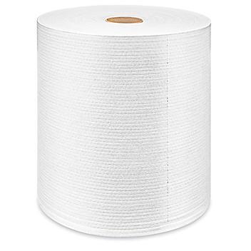 Uline Heavy Duty Wipers Jumbo Roll - White S-13631W