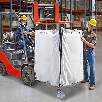 "Bulk Bags - Duffle Top, Spout Bottom, 35 x 35 x 55"" S-13643"