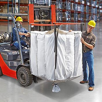 "Bulk Bags - Duffle Top, Spout Bottom, 42 x 42 x 44"" S-13644"