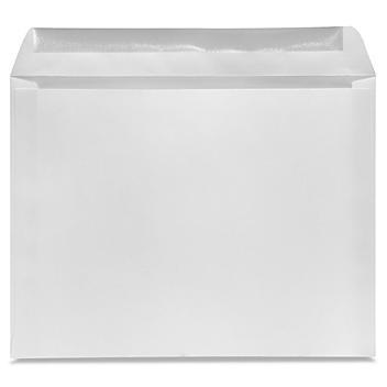 """Booklet Gummed Envelopes - White, 13 x 10"""" S-13647"""