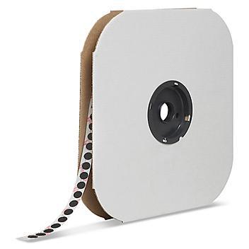 "Velcro® Brand Tape Dots - Hook, Black, 3/8"" S-13655"