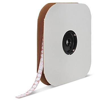 """Velcro® Brand Tape Dots - Hook, White, 3/8"""" S-13657"""
