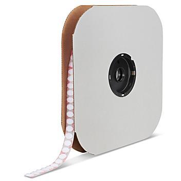 "Velcro® Brand Tape Dots - Loop, White, 3/8"" S-13658"