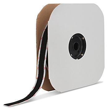 "Velcro® Brand Tape Strips - Loop, Black, 1/2"" x 75' S-13664"
