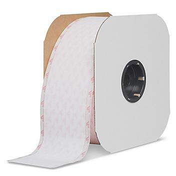 """Velcro® Brand Tape Strips - Hook, White, 4"""" x 75' S-13669"""