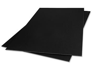 """Foam Core Board - 48 x 96"""" , Black, 1/2"""" thick S-13724"""