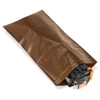 "8 x 14"" Amber UV Reclosable Bags S-13771"