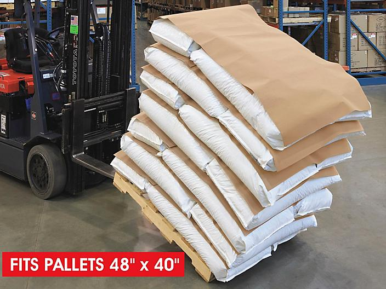 "Anti-Slip Pallet Paper Skid Lot - 45 x 37"" S-13801S"