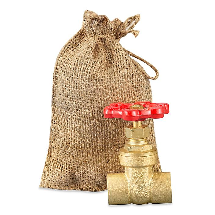 """Burlap Bags with Drawstring - 4 x 6"""" S-13897"""