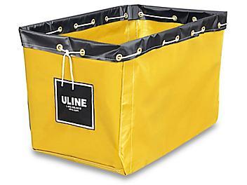 "Replacement Liner for Vinyl Basket Truck - 30 x 20 x 20 1/2"", Yellow S-13928Y"