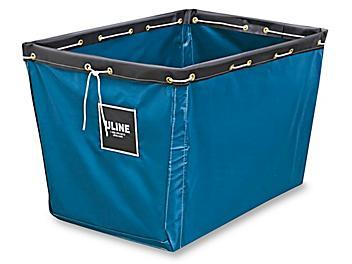 "Replacement Liner for Vinyl Basket Truck - 36 x 26 x 27 1/2"", Blue S-13929BLU"