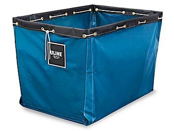 "Replacement Liner for Vinyl Basket Truck - 40 x 28 x 30"", Blue S-13930BLU"
