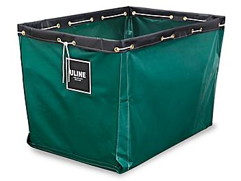 """Replacement Liner for Vinyl Basket Truck - 40 x 28 x 30"""", Green S-13930G"""