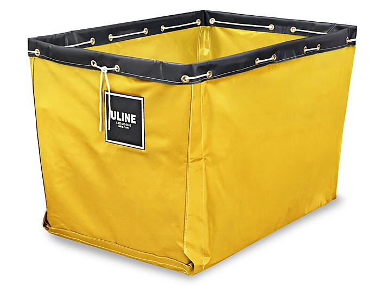 "Replacement Liner for Vinyl Basket Truck - 40 x 28 x 30"", Yellow S-13930Y"