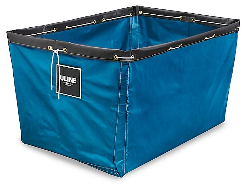 "Replacement Liner for Vinyl Basket Truck - 48 x 32 x 30"", Blue S-13931BLU"