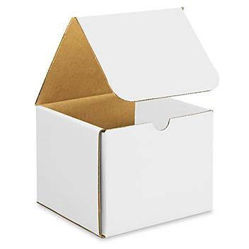 """6 x 6 x 5"""" White Indestructo Mailers S-15075"""
