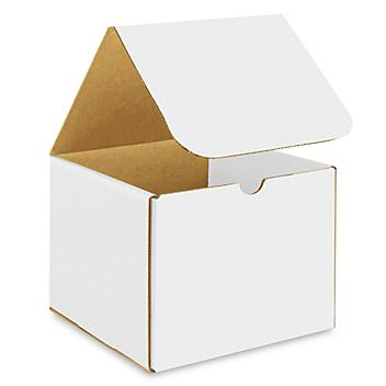 """7 x 7 x 6"""" White Indestructo Mailers S-15077"""