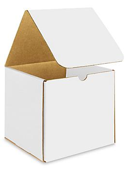 """7 x 7 x 7"""" White Indestructo Mailers S-15078"""