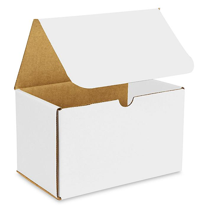 """8 x 5 x 5"""" White Indestructo Mailers S-15085"""
