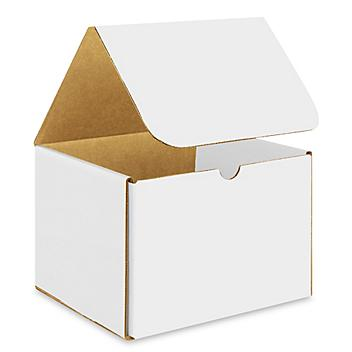 """8 x 7 x 6"""" White Indestructo Mailers S-15087"""