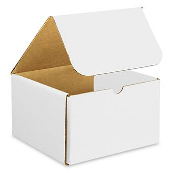 """8 x 8 x 5"""" White Indestructo Mailers S-15088"""