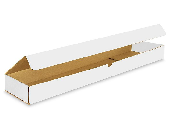 """26 x 6 x 2"""" White Indestructo Mailers S-15107"""