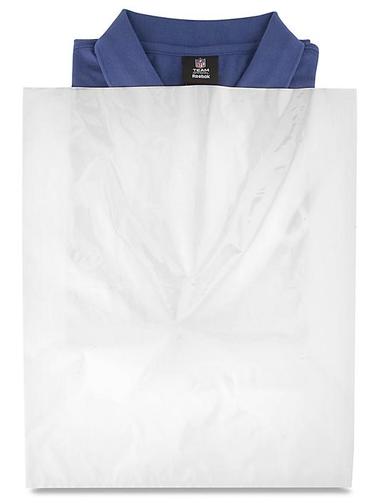 """15 x 18"""" 2 Mil Colored Poly Bags - White S-15161W"""