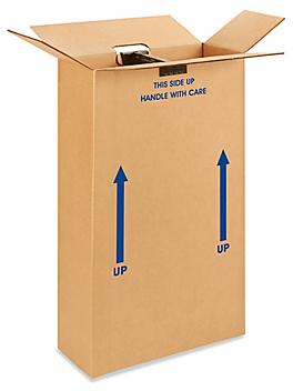 """22 x 8 x 40"""" 275 lb Double Wall FOL Suit Shippers S-15179"""