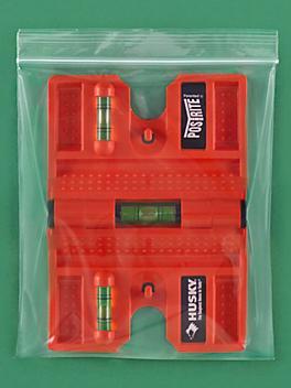 "7 x 8"" 6 Mil Reclosable Bags - 1 Quart S-15260"