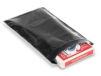 """5 x 8"""" 2 Mil Colored Reclosable Bags - Black S-15271BL"""