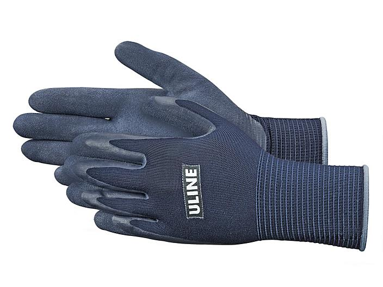 Uline Super Gription® Flex Latex Coated Gloves - Blue, XL S-15333BLU-X