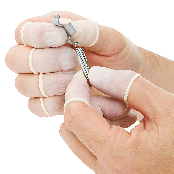 Nitrile Finger Cots - Powder-Free, Large S-15365L
