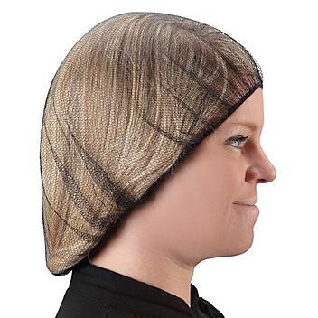 "Nylon Honeycomb Hairnets - 24"", Black S-15372BL"