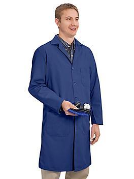 Men's Cloth Lab Coat - Navy, Size 40 S-15376NB-40