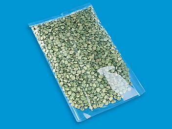 "Flat Polypropylene Bags - 1.5 Mil, 5 x 8"" S-15451"