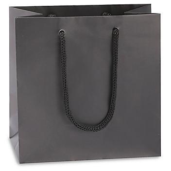 "Matte Laminate Shopping Bags - 6 1/2 x 3 1/2 x 6 1/2"", Mini"