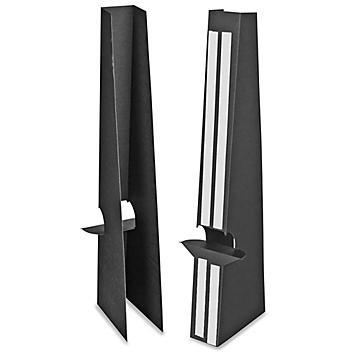 "Easel Backs - 24"", Double Wing, Black S-15490BL"