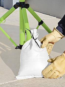 """Sandbags - 10 x 14"""", White S-15518W"""