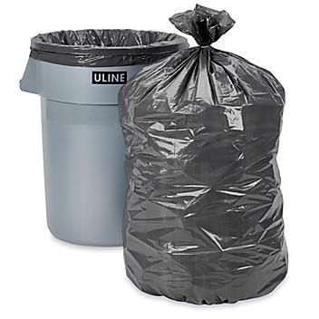Trash Liners - 44-55 Gallon, Gray S-15544GR