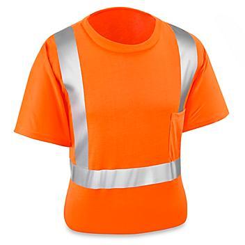 Class 2 Standard Hi-Vis T-Shirt - Orange, 2XL S-15568O-2X