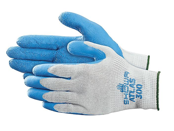 Showa® Atlas® 300 Latex Coated Gloves - Small S-15571S