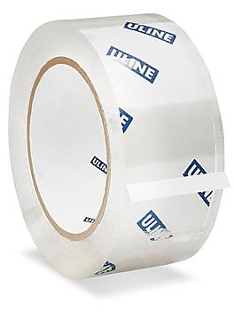 """Uline Carton Sealing Tape - 2 Mil, 2"""" x 110 yds, Clear S-15575"""