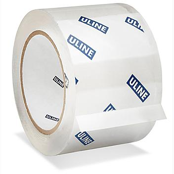 """Uline Carton Sealing Tape - 2 Mil, 3"""" x 110 yds, Clear S-15576"""