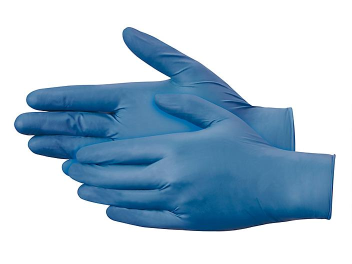 Uline Supraflex Nitrile Gloves - Powder-Free, Small S-15639S