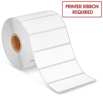 """Desktop Thermal Transfer Labels - 3 x 1"""", Ribbons Required S-15738"""