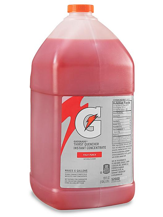 Gatorade® Concentrate - 1 Gallon, Fruit Punch S-15776F
