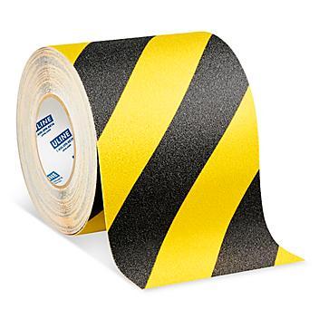 """Anti-Slip Tape - 6"""" x 60', Yellow/Black S-15798"""