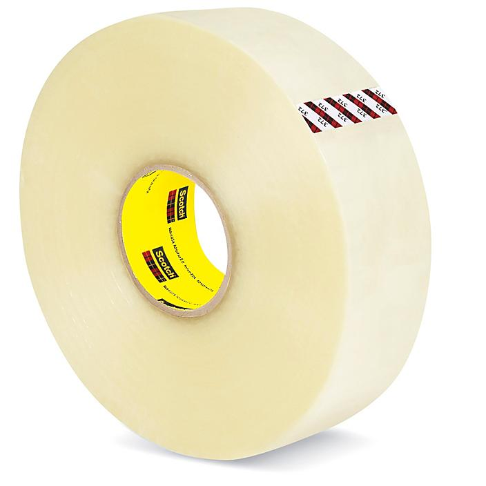 """3M 372 Machine Length Tape - 3"""" x 1,000 yds, Clear S-15915"""